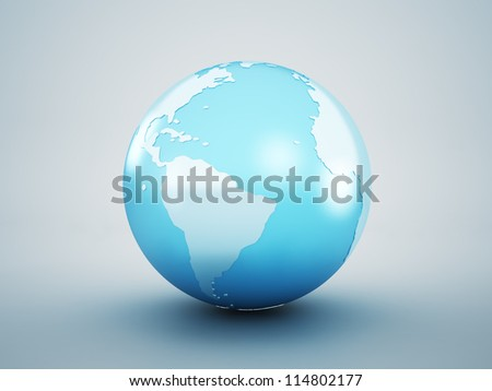 earth globe concept. elements of this image furnished by NASA