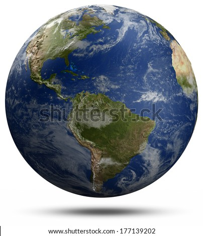 Earth globe Elements of this image furnished by NASA