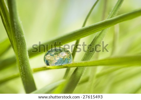 Earth in a drop