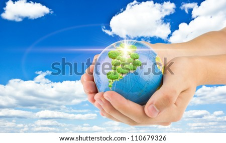 "earth in child""s hands"