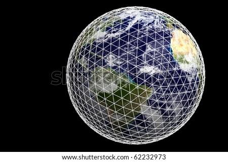 Earth in web