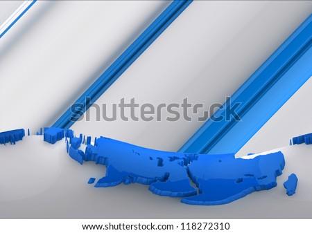 Earth Landscape Blue