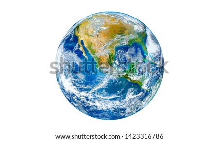 Earth or world  Elements of this image furnished by NASA