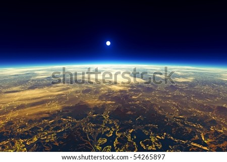 Earth Planet View From Space