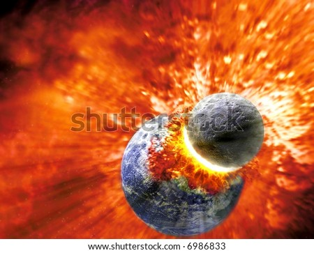 Earth Taking The Knocks