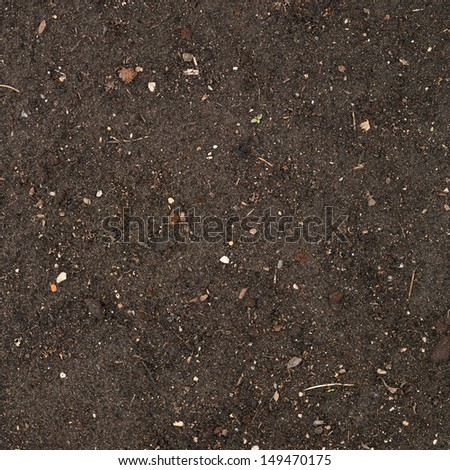 Earth texture with a small stone admixture as a background