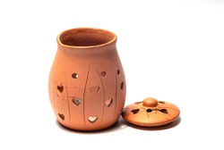 earthenware For lighting incense or candles