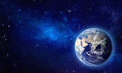 Earthly Splendor - Elements of this Image Furnished by NASA