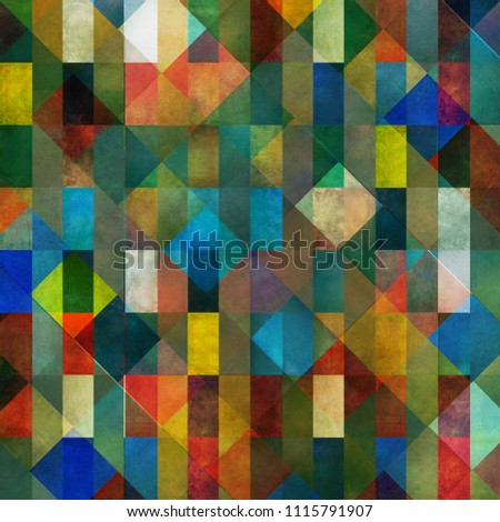 Earthy geometric background image