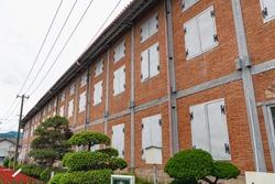 East Cocoon Warehouse of the Tomioka Silk Mill in Gunma, Japan