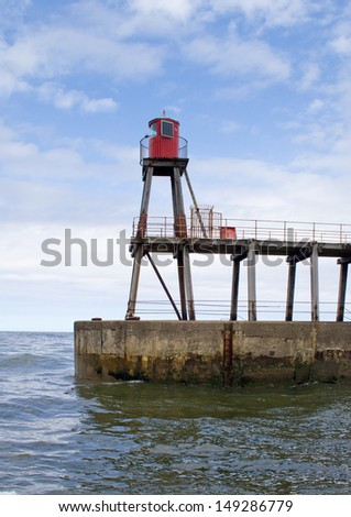 East pier lighthouse - Whitby