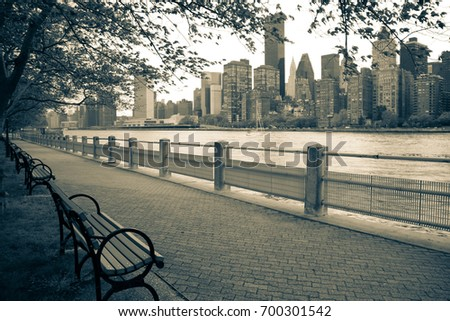 east river  manhattan and...