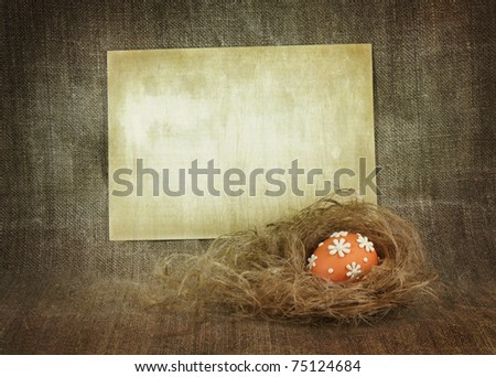 Easter background with blank space for Your text or image