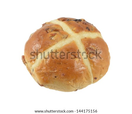 Easter Bun Isolated