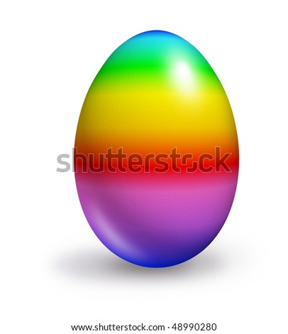 stock-photo-easter-egg-rainbow-colors-is