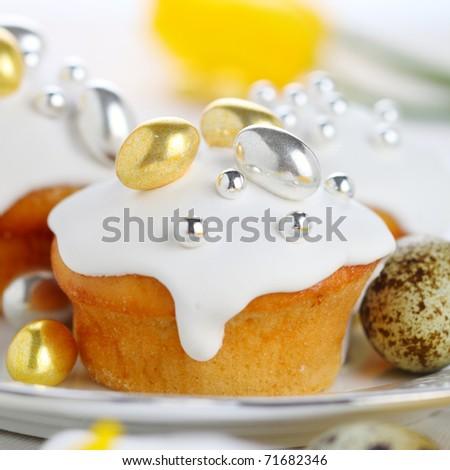 Easter iced cake