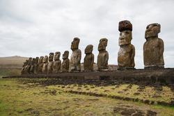 Easter Island, Chile - Moai