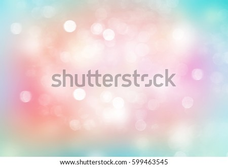 Easter spring multicolored glitter bokeh background.Rainbow summer fresh backdrop.Holiday soft wallpaper.