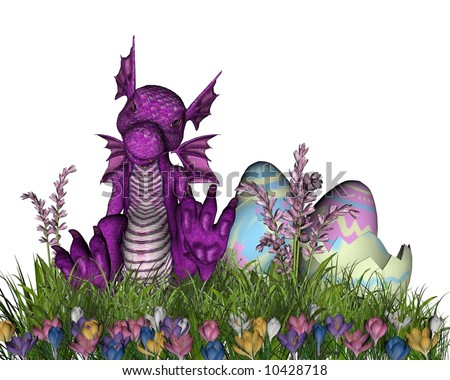 Happy Easter From The Easter Dragon photo 1