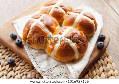 Easter sweet Hot Cross Buns