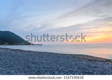 Eastern Taiwan coastline,  A coastal landscape that is prohibited from being developed under management. #1567140658