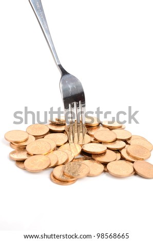 Eating - stock photo