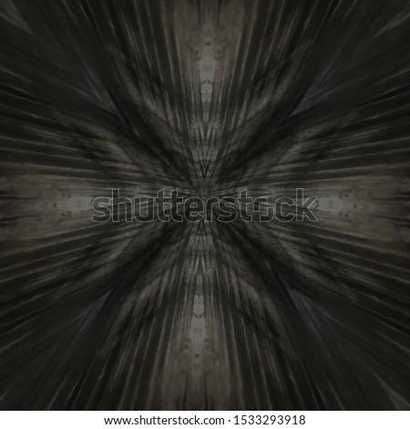 ebony veneer panel board, abstract centered symmetrical grain pattern