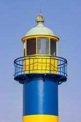 Eckernförde Old Lighthouse in Schleswig-Holstein, Germany