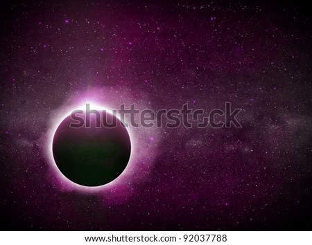 Eclipse illustration