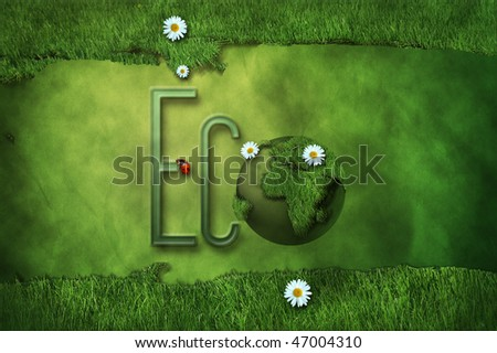 Eco background - The green collection