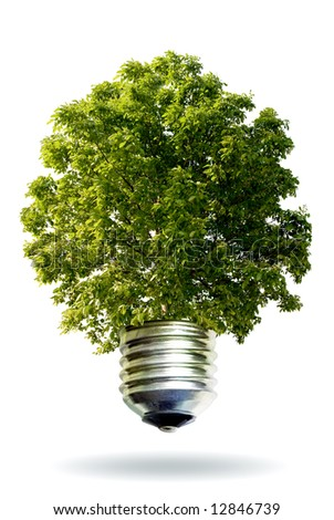 eco energy - stock photo
