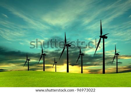Eco-Energy, conceptual image