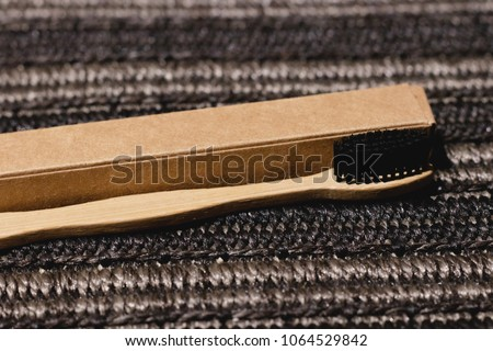 Eco-friendly Bamboo Toothbrush #1064529842