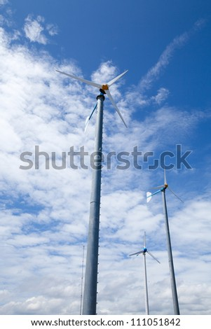 Eco friendly wind turbine