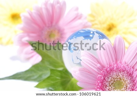Eco-image - stock photo