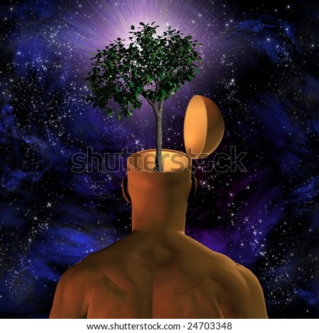Eco-mind - stock photo