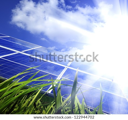 Eco power,Power plant using renewable solar energy with
