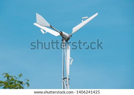 Eco Power. Wind Turbines Generating Electricity. #1406241425