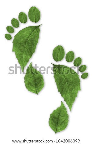 Ecological Footprint sustainability concept #1042006099