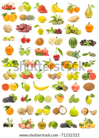 ecological fruit collection