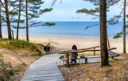 Ecological tourism in the Baltic region is a very popular clean resting area for European tourists