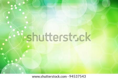 ecology background - stock photo