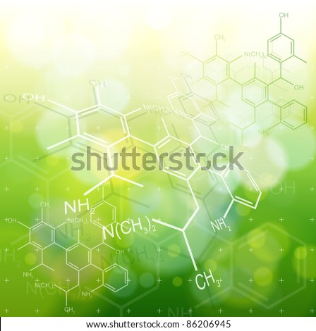 ecology background  chemical