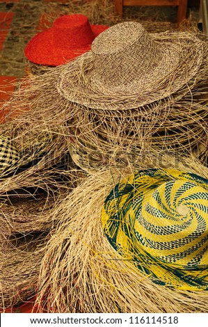 Ecuador - Panama Hats,  is a traditional brimmed hat made in Cuenca