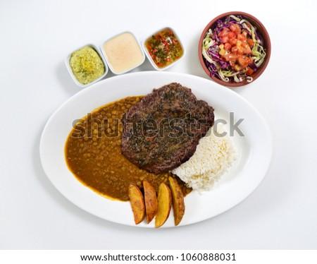 Ecuadorian Dinner dish #1060888031