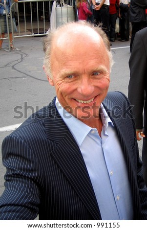Ed Harris at the Toronto Film Festival