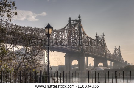 Ed Koch Queensboro Bridge, also known as the 59th Street Bridge �¢?? because its Manhattan end is located between 59th and 60th Streets
