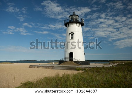 Edgartown Lighthouse,  Martha�´s Vineyard, New England, Massachusetts, USA, Leuchtturm Edgartown, Marthas Vineyard, Neu England