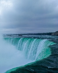 Edge of the Niagra Falls