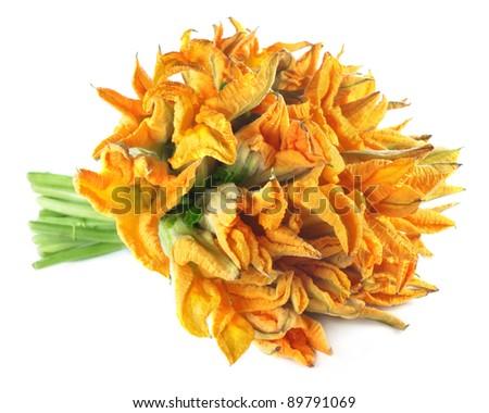 Edible pumpkin flower
